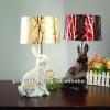 Cute rabbit TL2002-WH & TL2002-BK Lovers table lamp