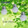 DIP led bulb light(CE&ROHS)(SG40-24DGLF6)