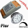 Dimmable led driver for 27w led ceiling light (CE, ROHS, FCC approved)