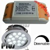 Dimmable led driver for aluminum led ceiling light (CE, ROHS, FCC approved)