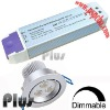Dimmable led driver for halogen downlight led replacement (CE, ROHS, FCC approved)