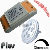 Dimmable led driver for led ceiling light 3w (CE, ROHS, FCC approved)