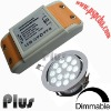 Dimmable led driver for low power led ceiling light (CE, ROHS, FCC approved)