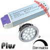 Dimmable led driver for waterproof led ceiling light (CE, ROHS, FCC approved)