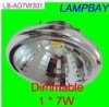 Dimmalbe Factory price fast shipping SHARP LED AR111 QR111 ES111 SA111 downlight ceiling ce 7W 110/220Vac manufactory supply