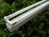 Double tube fluorescent lamp