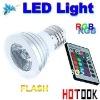 Dropshipping-3W E27 RGB LED Spot light Bulb16 Color Chaning