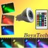 Dropshipping---GU10 3W RGB LED Lamp Light Bulb16 Color