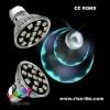 E27 3W 85-265V 270lumens 3000k Crytal clear led bulb