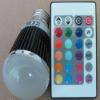 E27 LED 5W rgb bulb for music application