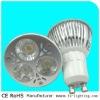 Edison 6w LED GU10 bulb 3x2w