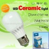 Fashion shape 3watt bulb lighting led ceramic light