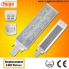 G24 6W 110lm/W led bulb with power factor above 0.95 M