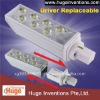 G24 LED PLC Lamp New Technology with Replaceable Driver 6W E