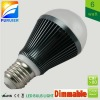 G60 shape, dimmable 6W e27 led globe bulb light