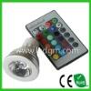 GU10 MR16 E27 RGB LED Spot bulb