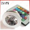 GU10 remote control 16 color RGB led spot light