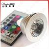 GU10 remote control 16 color RGB led spotlight