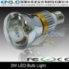 High Lumens 3W LED Bulb Light with e27 base