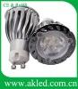 High Power 3x2W Spot GU10 LED Spot Bulbs DC12V