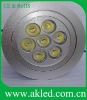 High Power LED Ceiling Bulbs 7W with CE&ROHS Approved AK-CL-C604-7 7X1W