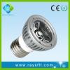 High Quality led spot light e27 3w