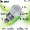 High brightness sharp COB 5W E26 LED bulb lamp