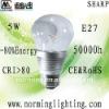 High brightness sharp COB DIM 5W E27 LED bulb lamp