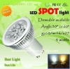High lumen 4W GU10 led spot light