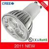 High lumen gu10 led lighting 9w cree