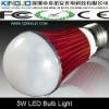 High lumens 5W LED Bulb Lamp with AC100~240V Input