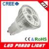 High power par20 3x3w gu10 led spot light
