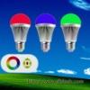 Hot rgb LED bulb light E27 6W (ce&rohs)