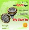 Hot sale 4W GU10 led spotlight