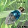Low Power 3W Candle LED Bulb with E27 Base