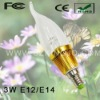 Low Power 3W E12 LED Candle Bulb