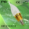 Low Power 3W E14 LED Candle Bulb