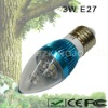 Low Power 3W E27 LED Candleabra Bulb