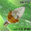 Low Power 3W LED Candle Bulb