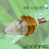 Low Power 3W LED Candle Bulb E14