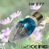 Low Power 3W LEDs Candle Bulb with E27 Base