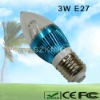 Low Power LED Candle Bulb 3W