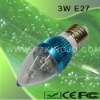 Low Power LED Candle Bulb with E27 Base