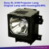 Mercury Lamp OEM For Original Projector Lamp with housing For Sony XL-2100 projector lamp