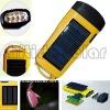 New 2011 ABS solar plastic LED torch light