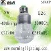 New Launched sharp COB DIM 5W E26 LED bulb light