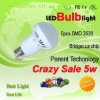 Patent technology newest 5W led bulb