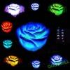Romantic colorful rose flower light LED Electronic Color Change Rose Night Light Led flower
