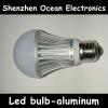 SMD 3014 frost plastic E27 global bulb lights 3/5/7w