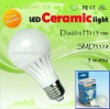 Super bright home lighting led ceramic bulb 5 watt